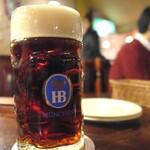 バーデンバーデン - 漆黒のビール。うまい!