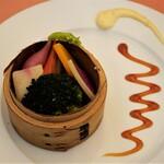 144703112 - 三浦の蒸し野菜