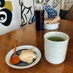 Nyutonkatsuaburatonabe - ほうじ茶プリン