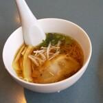 焼肉ハウス ファミリー - 料理写真:ミニ和風ラーメン(360円)