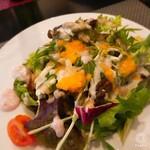 144710645 - サラダ。わりと大皿に出てきたのでビックリ!