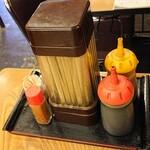 みゆき食堂 - 料理写真:テーブルの調度