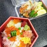 柏戸銀寿し - 料理写真:お持ち帰り用カニ揚げセット
