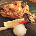 Sushinakago - 金目鯛カマ焼き