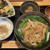 きつね庵 - 料理写真:ランチセット