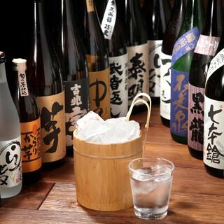 大好評!『日本酒30種入り飲み放題』各コースにつけれます!