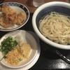 讃岐うどん専門店 やまふじ - 料理写真:『かしわ天セット(温)  620円なり』