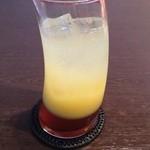 タビ カフェ - オレンジティソーダ