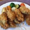レストラン夕凪亭 - 料理写真:大粒カキフライ