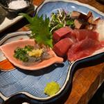 Hey! 周平 - 料理写真:刺身お造り3種盛