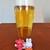 炭火焼イタリアン ラ・パーチェ - 生ビール ¥650