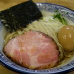 麺処 有彩 - 昆布水つけ麺醤油味玉トッピング(850円税込)
