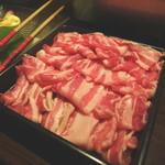 芋蔵 - 黒豚しゃぶしゃぶ