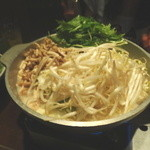 芋蔵 - 黒豚しゃぶしゃぶのスープは白湯スープです