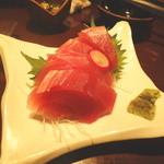 芋蔵 - 本日の鮮魚のマグロ