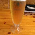 ミリオンダラー カフェ - 生ビール(600円)