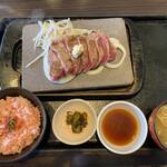 石焼ステーキ 贅  - サーロイン(180g)(*´﹃`*)