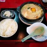 まんぷく食堂 - 料理写真:ホルモン鍋定食
