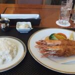 西武特別食堂 ホテルオークラ - 大海老フライ