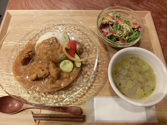 門の料理の写真