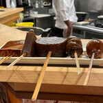 144749173 - どて焼き(味噌おでん) 1,200円 豆腐、こんにゃく、玉子、里芋、大根、牛スジ