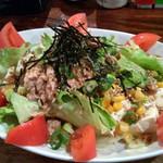 Turner-Cafe - ボリューム満点★豆腐とツナのサラダ★