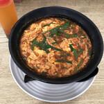麺屋 つつみ - メニューNo.1の辛麺 辛さは激辛!
