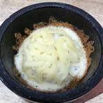 麺屋 つつみ - 石焼チーズご飯!