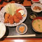 築地 ふじむら - カキフライ定食