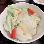 ajinochuukahagoromo - サラダ
