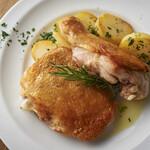 ル リール  - 大山鶏とじゃが芋のロースト