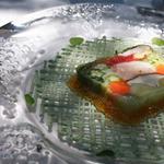オーベルジュ ド プリマヴェーラ - ランチ前菜 お店自慢の野菜のテリーヌ