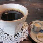 椿屋珈琲店 - ホットコーヒー