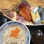 杉玉 - 舟盛丼