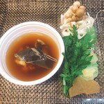 真 お魚と野菜 -