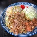 食事処 葵 - 料理写真:焼きそばチャーハン