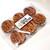 世界のコイン館 - 料理写真:銭形砂絵せんべい