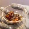 プレゼンテ スギ - 料理写真:本日の獲物①(低温調理から薪焼きした真鴨、玉葱と鴨の赤ワインソース、神奈川産の茶色いトリュフ)
