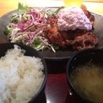 尊 - 宮崎鶏南蛮900円