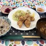 kitchen菜菜菜 - 鶏塩レモン竜田揚げ定食