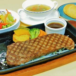 ★大人気♪鉄板ステーキセット★