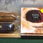 まるおか - 料理写真:エクレア:各298円・バスクチーズケーキ:1420円