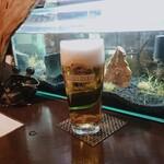 ここちもなか - 生ビール