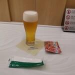 ANAラウンジ - オリオンビールもスナック(*´∀`)♪