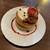 星乃珈琲店 - 料理写真:キャラメルりんごのスフレパンケーキ