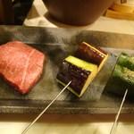 おにく 花柳 - 焼き物(和牛フィレ)