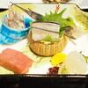 Yamatoyahonten - 料理写真:釣魚 媛鮪 太刀魚焼霜 平貝