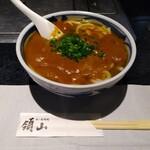 領山 - カレーうどん(大盛り・600円)