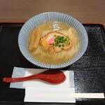 鯛塩そば 灯花 - 料理写真:鯛塩ラーメン@830