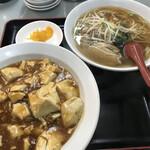 珉珉 - どんぶりセット(麻婆丼チョイス)